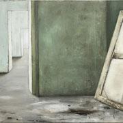 ROOM green 1 2018  Öl auf Leinwand 75 x 90 cm
