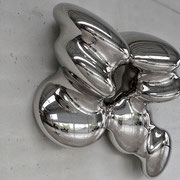 PULSAR 1 2020 wrought stainless steel Ed. 7 146 x 104 x 48 cm