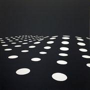 staedel_02, 2016, Acryl auf Leinwand, Unikat, 100 x 100 cm