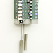Cuckoo Block Hamburg/ Kirchdorf Süd 2019 elekronischer Mechanismus mit Beleuchtung Ed. x/25 78 x 26 x 14 cm
