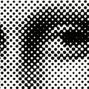 mona_lisa_01, 2006, serielles Unikat_5 Acryl auf Leinwand 80 x 200 cm
