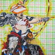 WAFFENGANG 2018 Öl auf Leinwand  170 x 130 cm