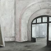 ROOM rose 2018  Öl auf Leinwand 115 x 140 cm
