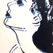 grace_07 2009 Acryl auf Leinwand Unikat 70 x 50 cm