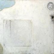 Ostrich, 2013, Öl auf Leinwand, 116 x 200 cm