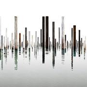 Laguna 2, Italien, 2015, Lambdaprint/Diasec hinter Acry,l Ed. 3 + 5  75 x 270 cm + 54 x 180 cm