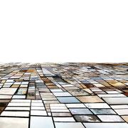 Salinas - whole day sequence; Lanzarote, 2012, Lambdaprint/Diasec hinter Acry,l Ed. 3 + 5 75 x 220 cm + 54 x 180 cm