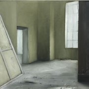 ROOM green 2 2018  Öl auf Leinwand 65 x 70 cm