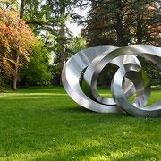 Loop (425) 2012 Edelstahl Ed. 3 350 x 446 x 295 cm