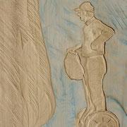 Segway 2 2015 Pappelholz 25 x 36 x 3 cm
