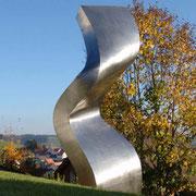 Loftshape (373) 2005 Edelstahl Ed. 5 120 x 70 x 320 cm