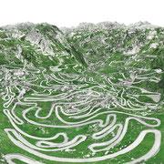 Tremola, Schweiz 2017 Lambda-Print auf Dibond hinter Acryl Ed. 5 150 x 100 cm