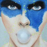 Blau 2017 Öl auf Leinwand 60 x 50 cm