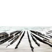 Tides; Zeeland, Niederlande 2017 Lambdaprint/Diasec hinter Acryl Ed. 3 + 5  75 x 270 cm  +  54 x 180 cm