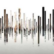 Laguna 4, Italien 2018 Lambda-Print auf Dibond hinter Acryl Ed. 3 + 5  75 x 270 cm                   oder                          54 x 180 cm