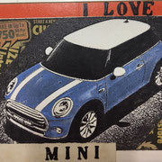 I love Mini 2017 Multiple 13,5 x 15,5 x 2,5 cm