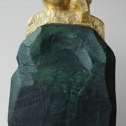 Portemonnaie (klein) 2016 Eiche, Blattgold ca. 14 x 21 x 80 cm