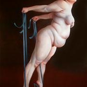 En Point 2008 Öl auf Leinwand  200 x 140 cm