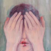 Mädchen, 2005/16, Öl auf Holz, 40 x 30 cm