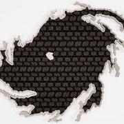 HURRICANE FLORANCE 2020 Aluminium, Tire  Ed. 1 155 x 108 x 7 cm