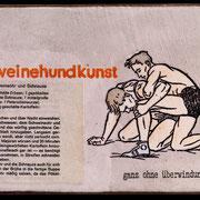 schweinehundkunst 2015 Ed. 8/12 15,5 x 24 x 3 cm