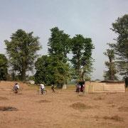 Terrenos para la construcción del colegio