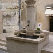 Création d'une fontaine originale à Uzès (30)