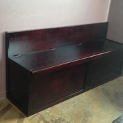 Sitting Bench with Storage