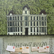 'Customs House' 800 x800mm. oil on canvas. SOLD