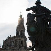 Der Dom von Dresden