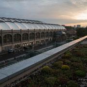 Der Hauptbahnhof von Dresden
