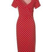 Rotes Tupfenkleid € 99,90 Madeleine online