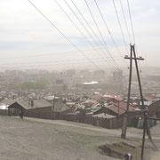 Ulan Bataar im Smog