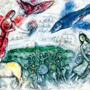 Marc Chagall Les gens du voyage