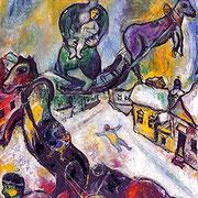 Marc Chagall La guerre