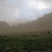 Sandsturm im Anzug