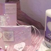 Zarte Lavendeltöne