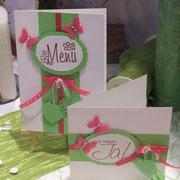 Jung und frech: grün und pink