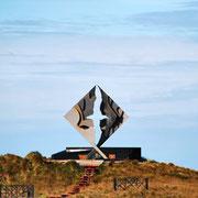 Albatross-Denkmal am Kap Horn