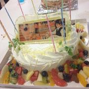 飴(写真)ショートケーキ