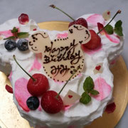 ミッキーショートケーキ