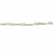 Namensarmband in Gelbgold