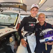 Charlie Wurz Zoltan Porsche Sprint Challenge @teamwear.at
