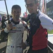 Stefan Walliser Porsche AG Blancpain Monza 2018
