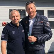 Dr Helmut Egger Porsche Austria Porsche GT4 Sprint Challenge