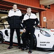Kevin Estre Michael Christenson credit Porsche AG