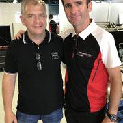 Roman Dumas Porsche Werksfahrer Blancpain Monza 2018