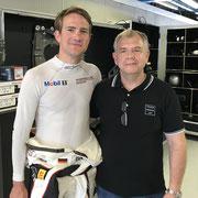 Dirk Werner Porsche Werksfahrer Blancpain Monza 2018