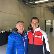 Klaus Bachler - coaching Red Bull Ring