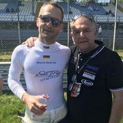 Marco Seefried Blanpain Monza 2018